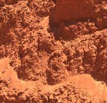 Red Building Sand, Top soil